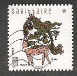 timbre: Signes du Zodiaque-Sagittaire