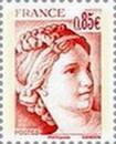 Timbre: 40 ans de la Sabine de Gandon