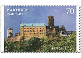 Timbre: Le chateau : Die Wartburg