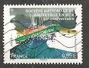 Timbre: Cinquantenaire de la sauvetage en mer