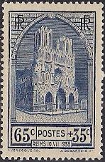 Timbre: Cathédrale de Reims