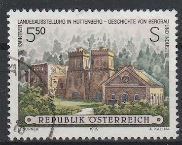 Timbre: Exposition régionale de Carinthie, Huttenberg