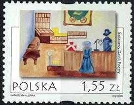 Timbre: Journée de la poste
