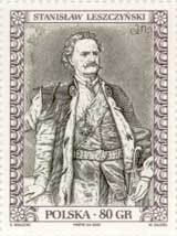 Timbre: Stanislas Leszczynski