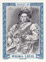 Timbre: Auguste III