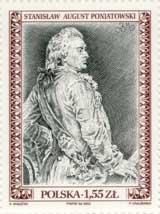 Timbre: Stanislas Auguste Poniatowski