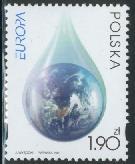 Timbre: Europa : l'eau
