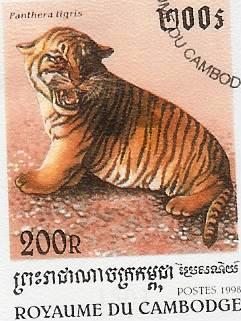 Timbre: Panthera tigris