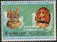 Timbre: Chat et chien