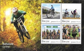 Timbre: Cyclisme  en Irlande  Le Bloc