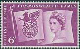 Timbre: 6è Jeux du Commonwealth