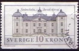 Timbre: Château baroque de Strömsholm reserve p