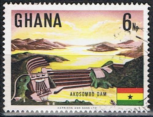 Timbre: Barrage d'Akosombo