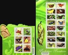 Timbre: Papillons