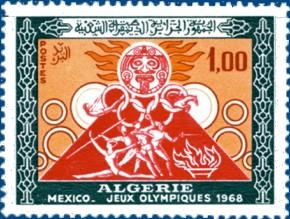 Timbre: JO Mexico 68