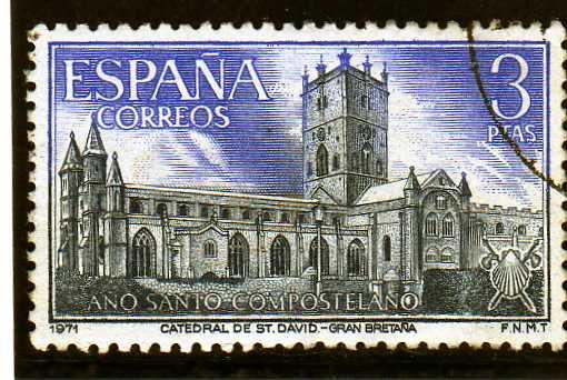 Timbre: Année de Saint Jacques de Compostele