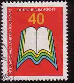 Timbre: Année internationale du livre