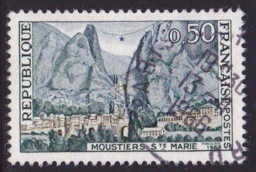 Timbre: Moustiers