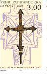 Timbre: Croix de St. Jaume d'Engordany