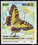 Timbre: Papilio machaon