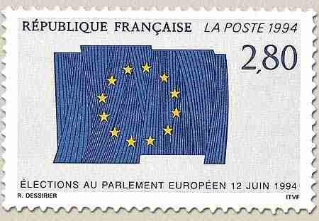 Timbre: Elections au parlement européen