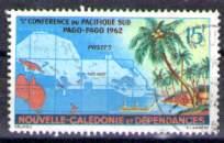 Timbre: 5e conférence du Pacifique-Sud