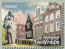 Timbre: Amsterdam - Le Béguinage