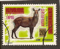 Timbre: EMPIRE CENTRAFRICAIN