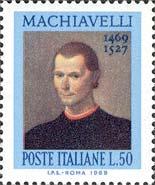 Timbre: Nicolas Machiavel