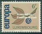 timbre: Europa Luxembourgeois