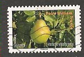 timbre: Fruits-Poire William-France