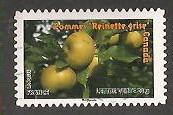 timbre: Pommes ''Reinettes grises''-Canada