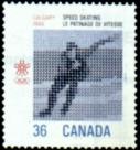 timbre: - Jeux Olympiques d'Hiver  - paire se-tenant