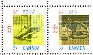 timbre: Jeux olympiques d'hiver - paire+2v
