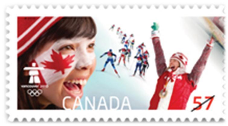 timbre: BF Notre esprit olympique en fête