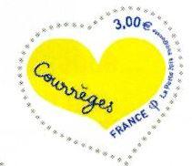 timbre: Coeur Courrèges