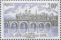 timbre: Le Pont-Neuf