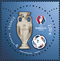 timbre:  UEFA   2 Euros