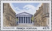 timbre: Architecture de la France et du Portugal
