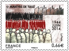 Timbre: Martyrs de Tulle