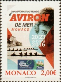 Timbre: World Rowing Coastal Championships - Monaco (20-23 Oct)