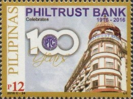Timbre: Centenary of Philtrust Bank
