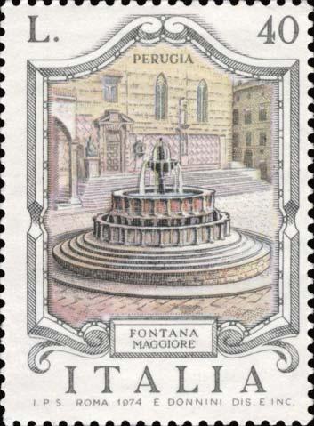 Timbre: Fontana maggiore, a Perugia