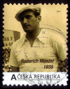 timbre: Roderich Menzel , Joueur de Tennis