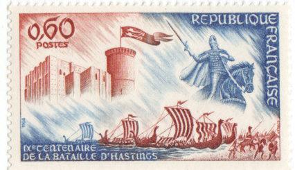 timbre: 9e centenaire de la bataille d'Hasting