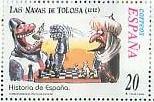 timbre: Histoire de l'Espagne illustrée