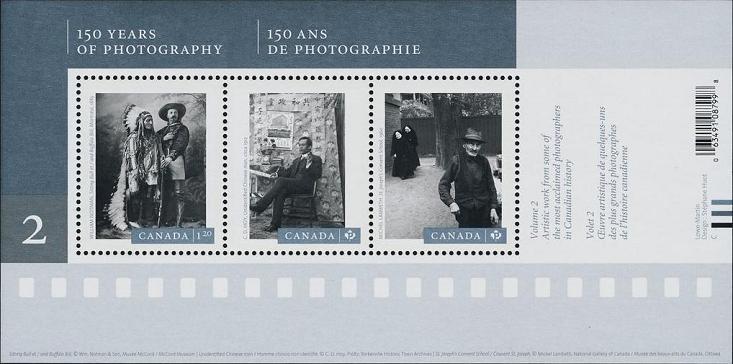 timbre: 150 ans de photographie