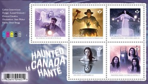 timbre: Canada hanté   Le Bloc