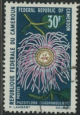 timbre: Passiflora quadrangularis