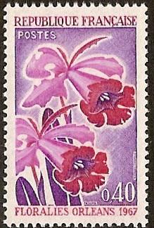 Timbre: *Floralies d'Orléans